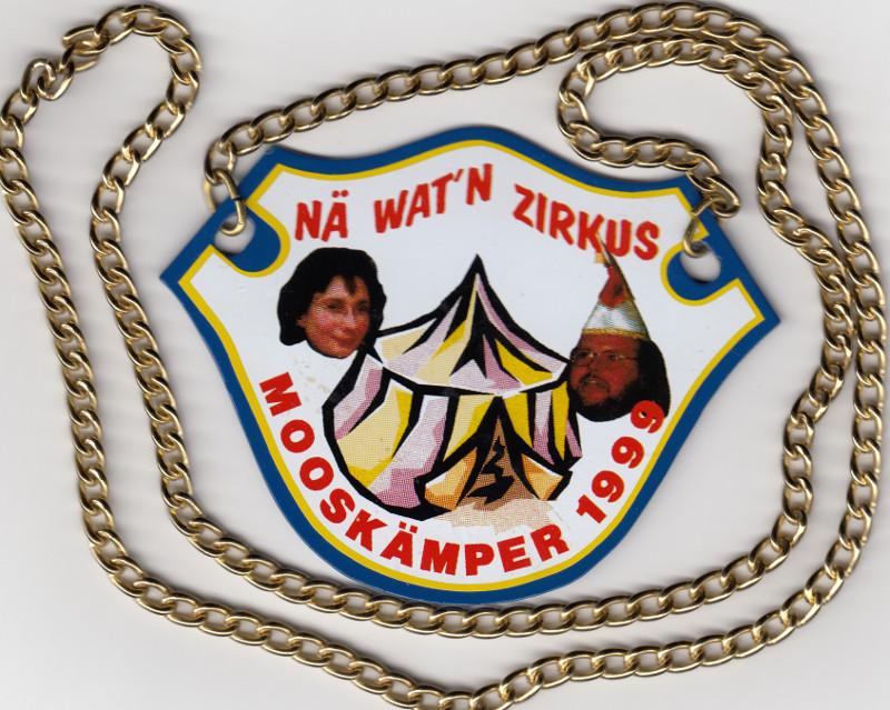 Orden Mooskämper Wagenbauer 1999