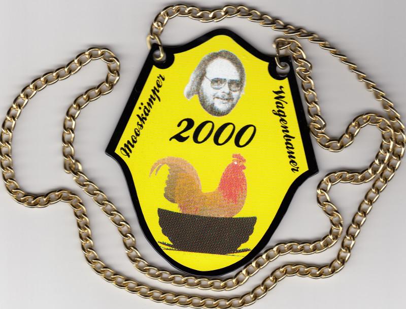 Orden Mooskämper Wagenbauer 2000
