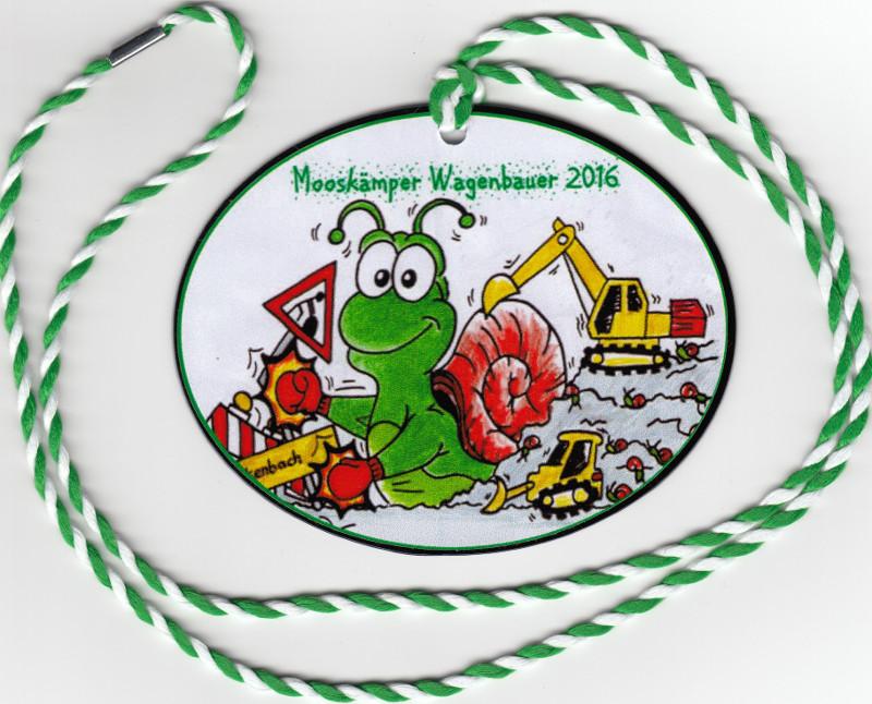 Orden Mooskämper Wagenbauer 2016