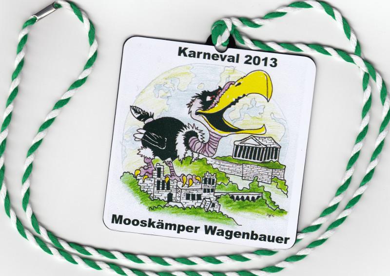 Orden Mooskämper Wagenbauer 2013
