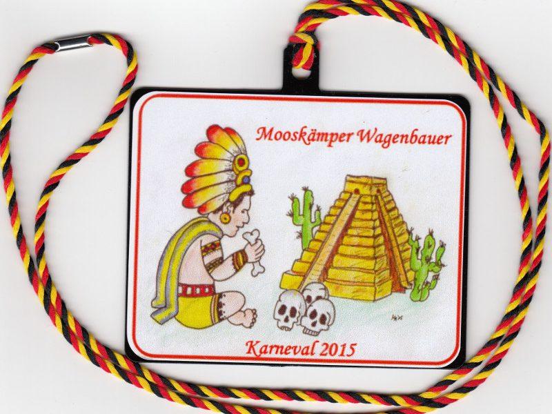Orden Mooskämper Wagenbauer 2015