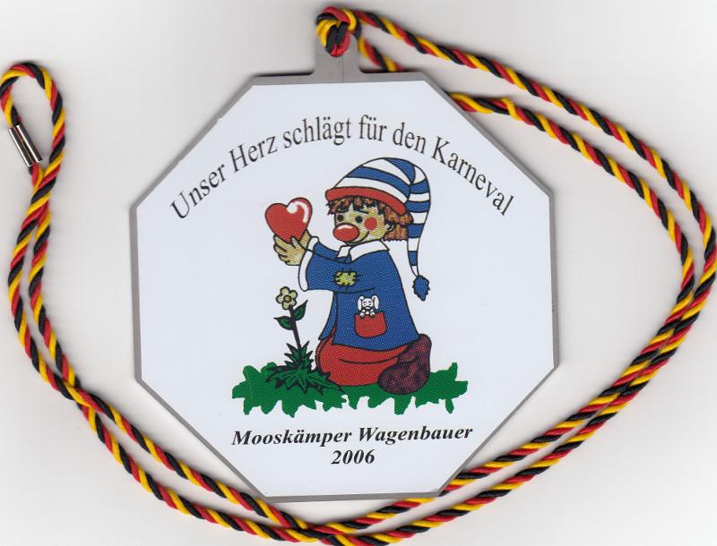 Orden Mooskämper Wagenbauer 2006 33 Jahre