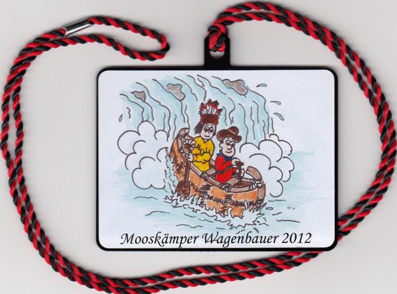 Orden Mooskämper Wagenbauer 2012